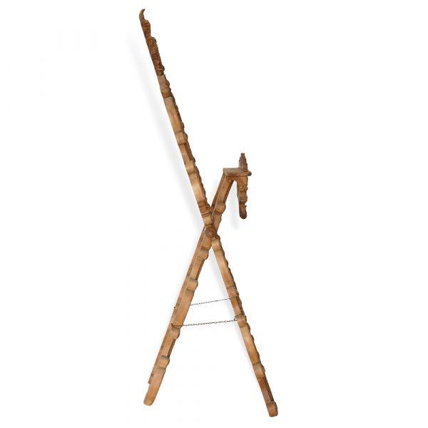 Leggio in legno in stile classico francomario