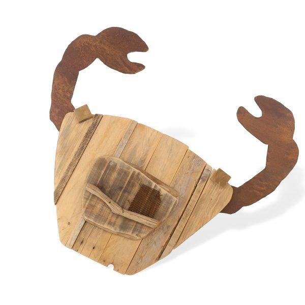 Pesce in legno Francomario