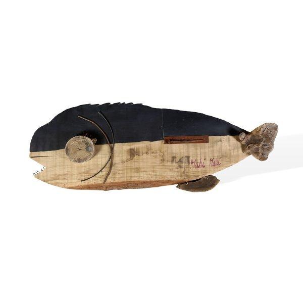 Pesce in legno