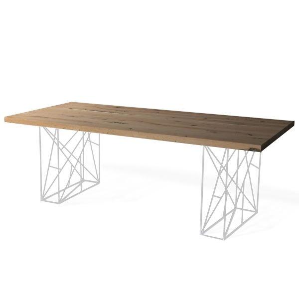 Piano tavolo in Rovere Briccola rifilato