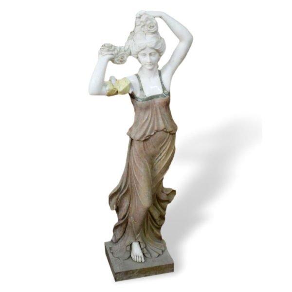 Statua in marmo Francomario