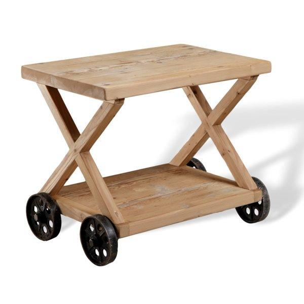 Tavolino con ruote Francomario