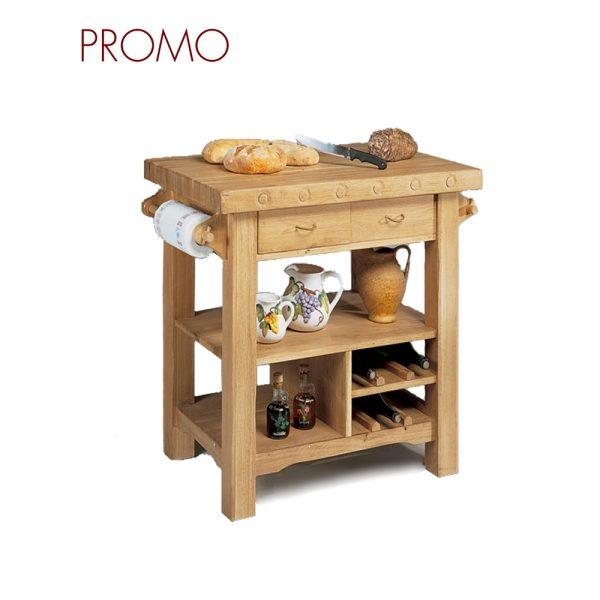 Tavolino rustico in stile classico Francomario
