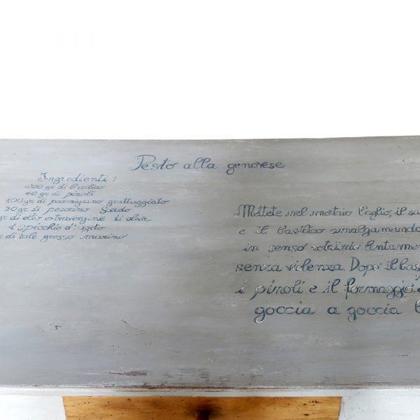 Tavolo ricetta stile classico laccato Francomario