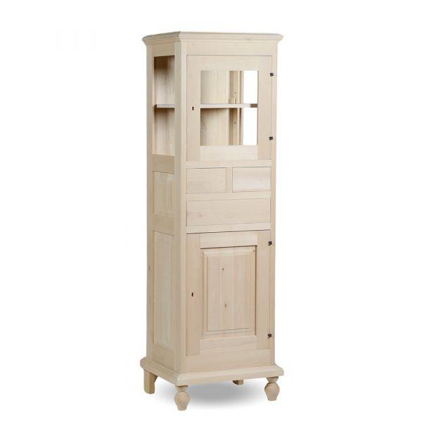 Vetrinetta 1 porta in stile classico Francomario